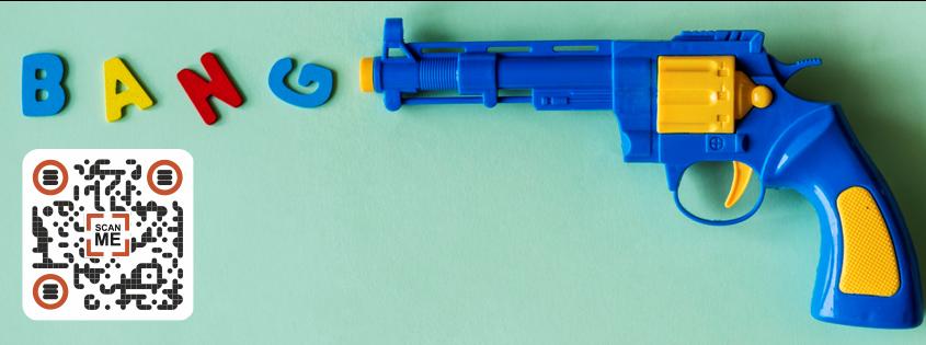 Toy gun bang!