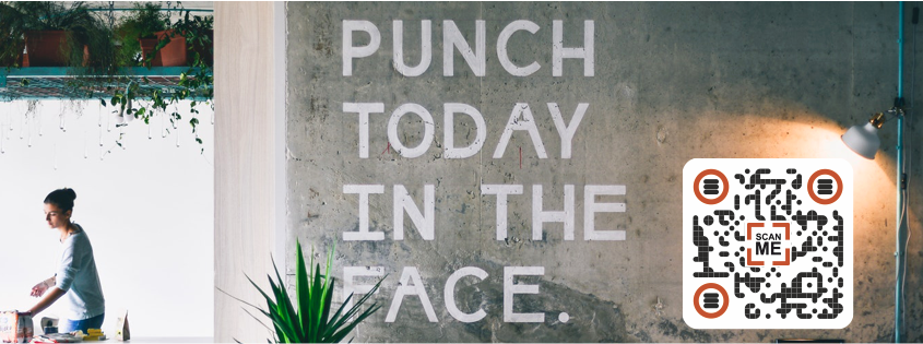 Punch today in the face.